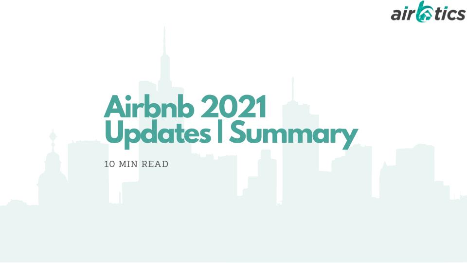 Airbnb 2021 updates summary