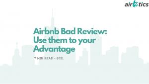 Airbnb bad reveiw