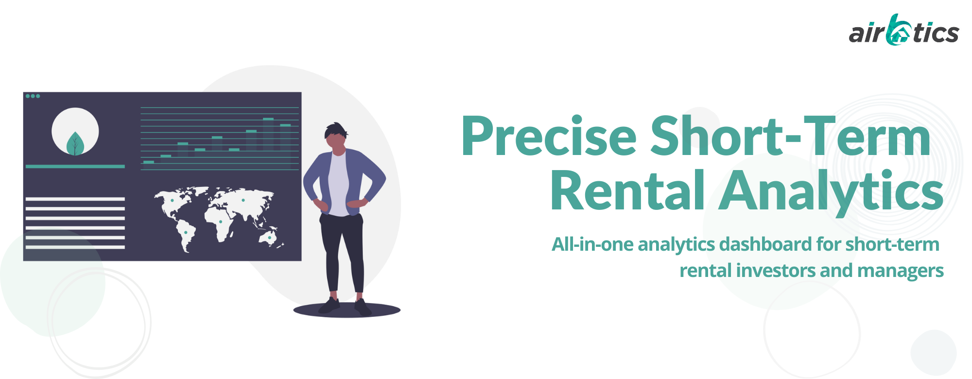 Precise short term rental analytics