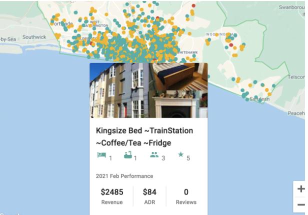 best cities to start airbnb - airbtics