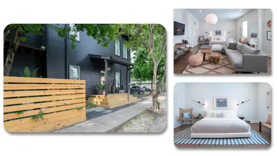Montrose spacious studio Airbnb in Houston