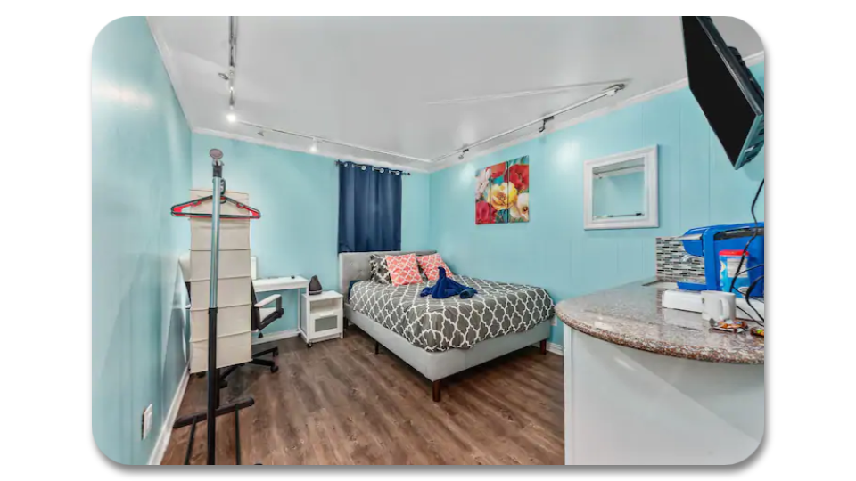 Tiffany Blue Apartment Houston