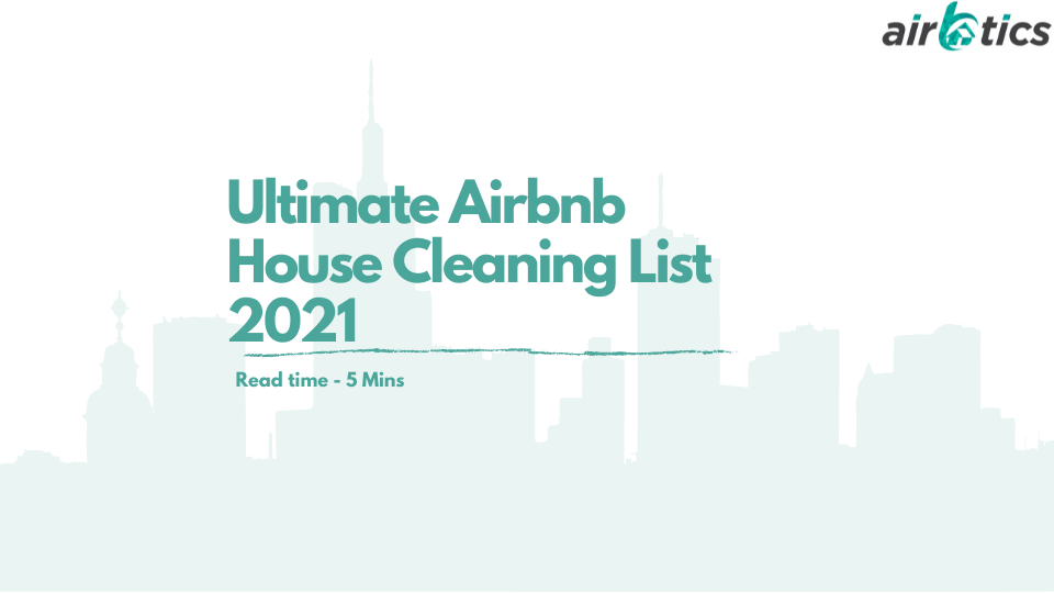Airbnb House cleaning checklist