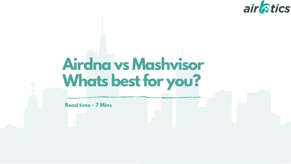 Airdna vs mashvisor