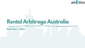rental arbitrage australia
