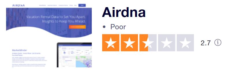 airdna review trustpilot